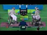 Wheelchair Fencing   Men's Individual Sabre Cat A   CHAN v PYLARINOS   Rio 2016 Paralympic Games HD