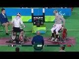 Wheelchair Fencing | Men's Individual Sabre - Cat A | LEMOINE v TIAN | Rio 2016 Paralympic Games HD