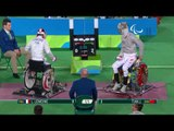 Wheelchair Fencing | Men's Individual Sabre - Cat A | LEMOINE v TIAN | Rio 2016 Paralympic Games HD