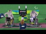Wheelchair Fencing|TRIANTAFYLLOU v DATSKO|Men's Individual SabreB Gold| Rio 2016 Paralympic Games