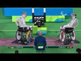 Wheelchair Fencing | Men's Individual Sabre Cat A | DEMCHUK v CHAN | Rio 2016 Paralympic Games HD