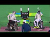 Wheelchair Fencing| NTOUNIS v OSVATH | Men's Individual Sabre A 1/2  | Rio 2016 Paralympic Games