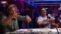 Cauet s'ouvre le crâne pendant l'interview de Zara Larsson - C'Cauet sur NRJ