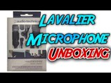 Audio Technica ATR3350IS Omni Lavalier Microphone (Mic Test & Unboxing)