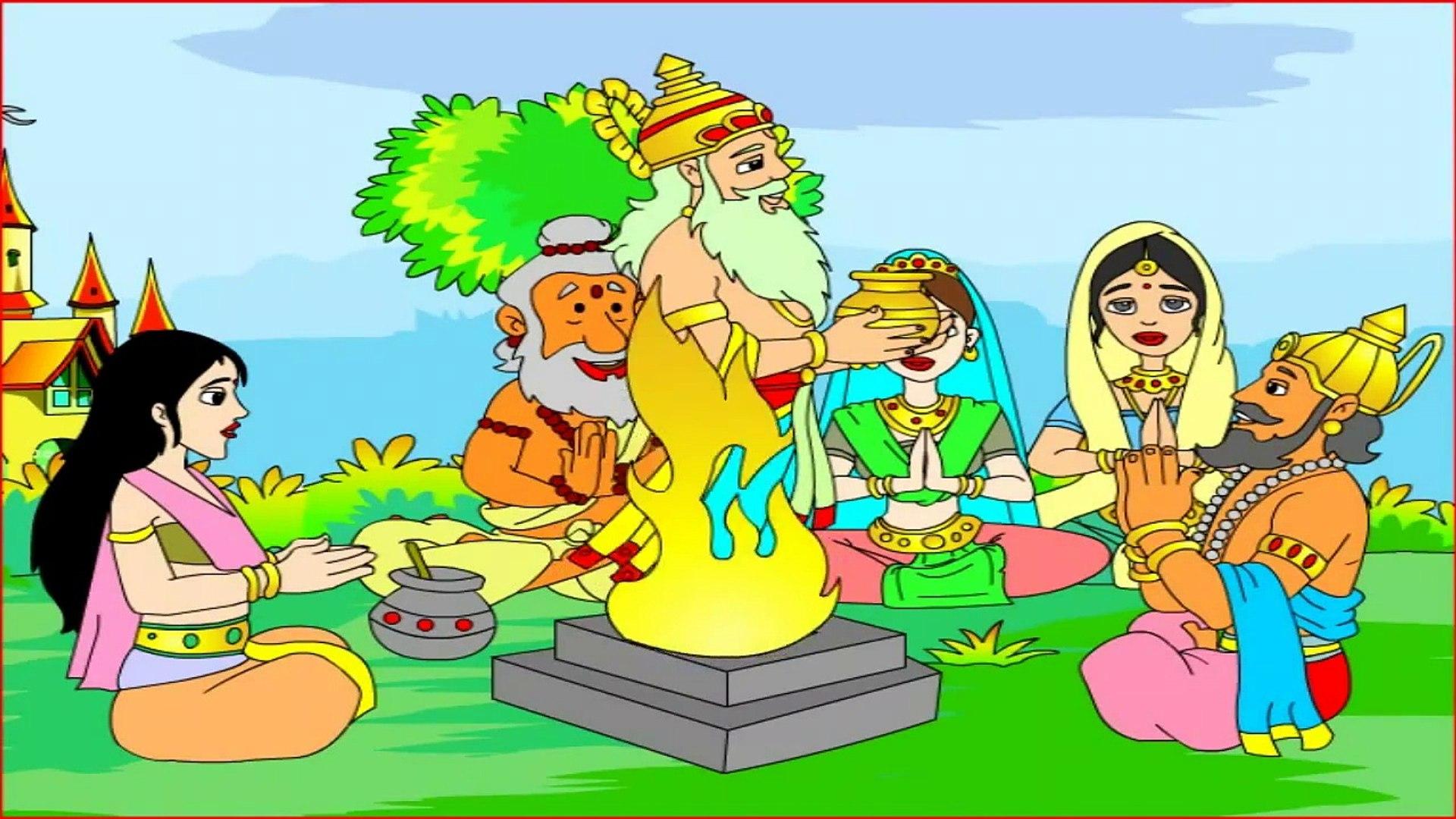 Little Rama ## Animated Mythological Story - Kids Education