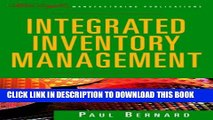[DOWNLOAD] PDF BOOK Integrated Inventory Management (The Oliver Wight Companies) Collection