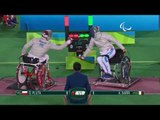 Wheelchair Fencing | Men's Individual Sabre - Cat. B | G.PLUTA v A.SARRI | Rio 2016 Paralympic Games
