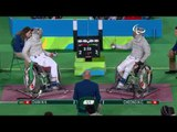 Wheelchair Fencing | Men's Individual Sabre - Cat A | CHAN v CHEONG  | Rio 2016 Paralympic Games HD