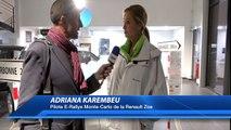 """Alpes de haute Provence:Adriana Karembeu fait étape à Renault Manosque avec la toute dernière""""Zoé"""""""
