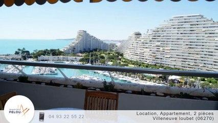 A louer - Appartement - Villeneuve loubet (06270) - 2 pièces - 50m²