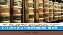 [PDF] The Consolidated Ordinances of the Northwest Territories, 1898: Being a Consolidation of the