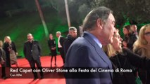 Festa del Cinema di Roma: il red carpet di Oliver Stone