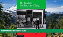 Full [PDF]  The Fascists and the Jews of Italy: Mussolini s Race Laws, 1938-1943 (Studies in Legal