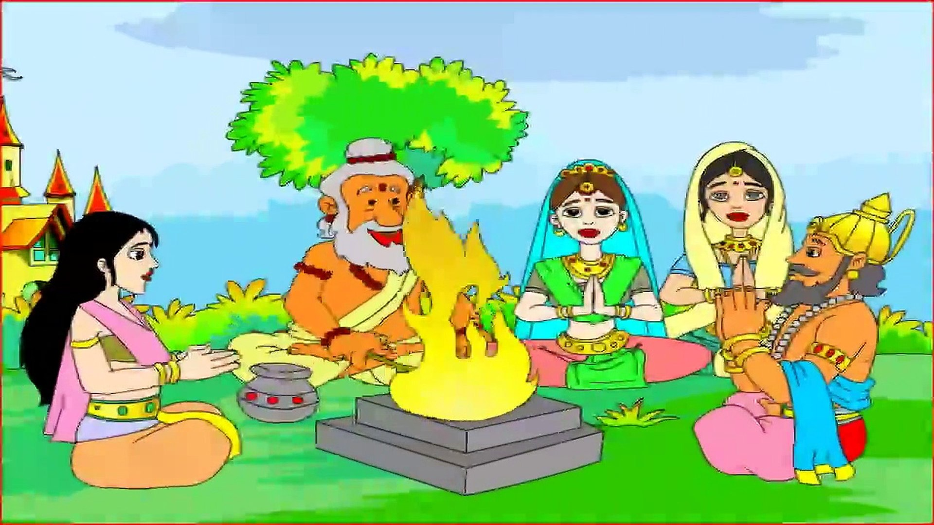 Story of Little Rama ## Story from Ramayana - Animation For Kids Education