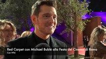 Festa del Cinema di Roma: Michael Bublé sul red carpet per Tour Stop 148
