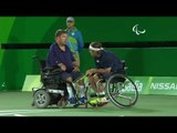 Wheelchair Tennis | USA v ISR | Quad Doubles Semifinals | Rio 2016 Paralympic Games