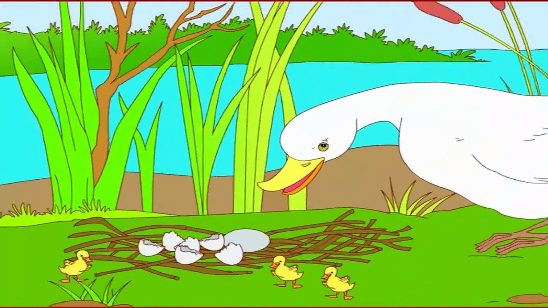 The Ugly Duckling ## Animated Short Story - Fairy Tale For Kids Education