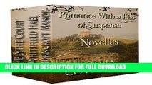 [DOWNLOAD PDF] Romance With a Kiss of Suspense Box Set: Three Novellas READ BOOK ONLINE