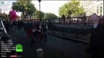 EN DIRECT - Des opposants aux traités transatlantiques TTIP et CETA manifestent à Paris