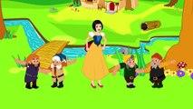 Pamuk Prenses ve Yedi Cüceler ile Dans Et Eğlen çizgi film çocuk şarkısı