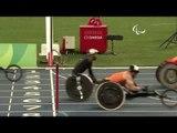 Athletics | Men's 400m - T54  Round 1 Heat 1 | Rio 2016 Paralympic Games