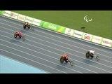 Athletics | Men's 400m - T54  Round 1 Heat 2 | Rio 2016 Paralympic Games