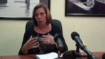 Breves declaraciones a la prensa de Josefina Vidal sobre los anuncios realizados en EEUU sobre Cuba
