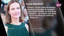 """Carole Bouquet révèle : """"J'ai fait toutes les bêtises possibles à cet âge"""" (Vidéo)"""