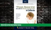 FREE PDF  How to Prevent, Discover   Act on Claims of Daycare   Childcare Abuse in California READ