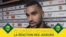 FCL-FCN : la réaction des joueurs