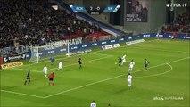 FC Copenhagen Keeper And Defender Make An Epic Goal Save!