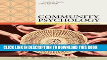 [EBOOK] DOWNLOAD Community Psychology: Linking Individuals and Communities READ NOW