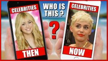 Kim Kardashian, Taylor Swift, Miley Cyrus,  Guess Who   Then & Now Celebrities 2016 #Animation