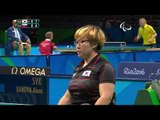Table Tennis |  Women's Singles - Class 3 Round 1 | Rio 2016 Paralympic Games