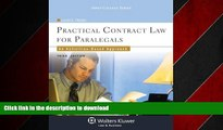EBOOK ONLINE Practical Contract Law for Paralegals: An Activities-Based Approach, Third Edition