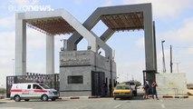 Egypt temporarily opens Rafah border crossing