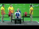 Powerlifting | GKOUNTANIS Nikolaos | Greece | Men's -65 kg | Rio Paralympic Games 2016