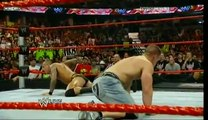 WWE HD - John Cena & Randy Orton (RKO + FU) CO-Finishing Move BEST FINSHER.flv
