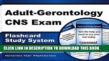 [New] Adult-Gerontology CNS Exam Flashcard Study System: CNS Test Practice Questions   Review for