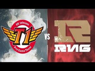 SKT vs RNG Highlights Full 4 Game - S6 World Championship Quarterfinals 2016