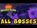 Nicktoons: Battle for Volcano Island All Bosses | Boss Battles (PS2, Gamecube)