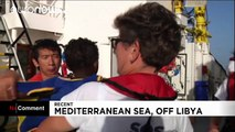 Italy: On board with migrants