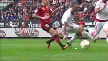 1-0 Diego Contento Funny Own Goal HD - Stade Rennes vs Girondins de Bordeaux 16.10.2016