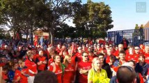 Les supporters du Munster rendent hommage à Anthony Foley, leur coach disparu