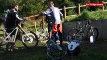 Coupe de Bretagne de BMX. La réaction de Malo Stephan