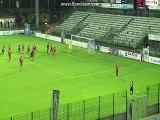 But Quentin Lacour Quevilly-Rouen - CA Bastia (1-2)