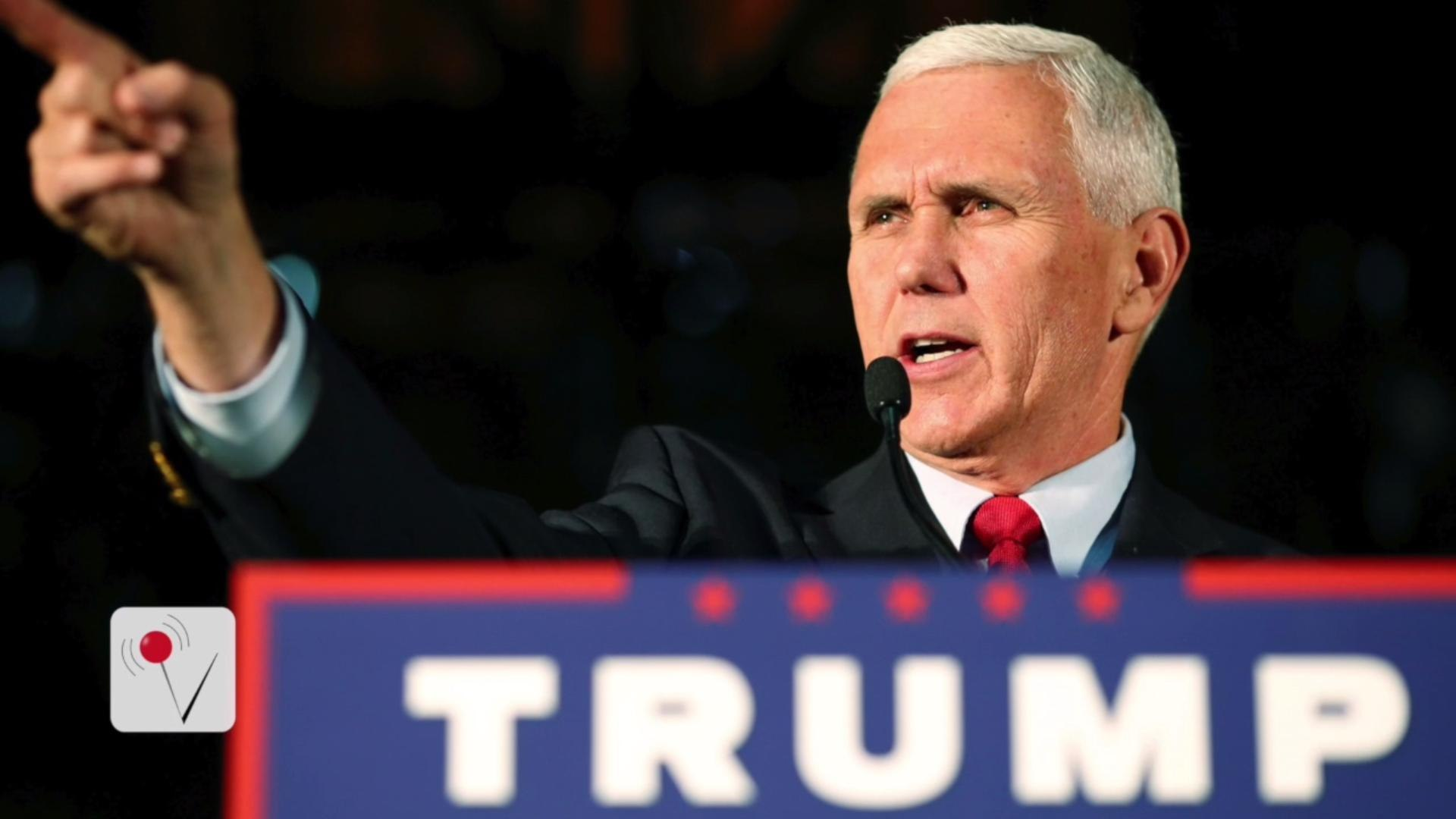 Mike Pence Defends Donald Trump on Leaked Video: 'He Apologized'