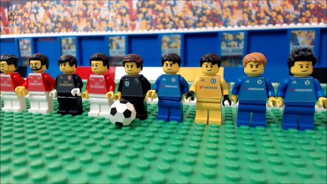 Arsenal vs Chelsea 3-0 • Premier League 2016/17 ( Film Lego Football ) Highlights • London derby