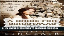 [PDF] Mail Order Bride: A Bride For Christmas (An Unexpected Bride For The Wrong Twin) (Clean
