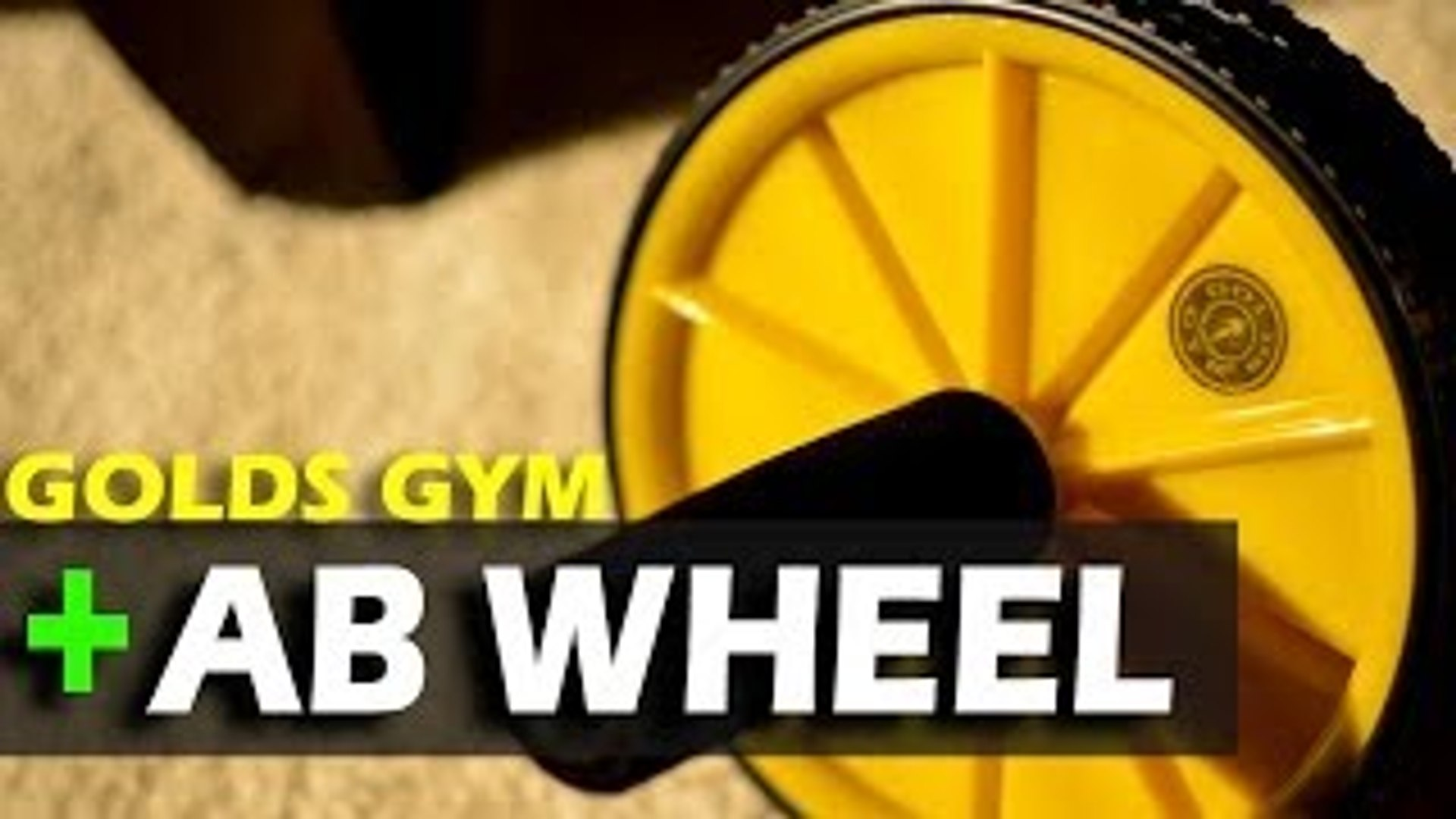 Golds Gym Ab Wheel - REVIEW & PLANK CHALLENGE